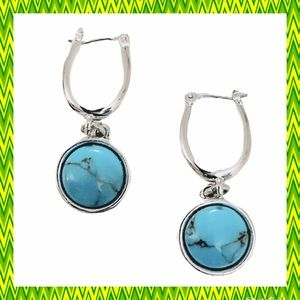 Jewelry - NEW Turquoise Statement Earrings